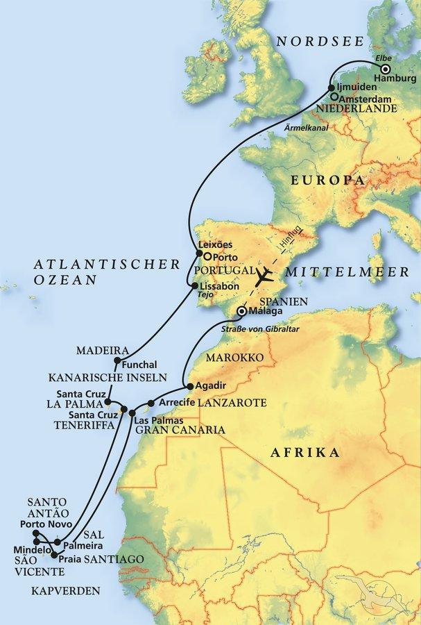 Zu Den Sonnen Inseln Im Atlantik Kreuzfahrt Mit Artania