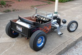 JR Finch Custom T-Bucket with Phoenix PT350SS Transmission and Converter