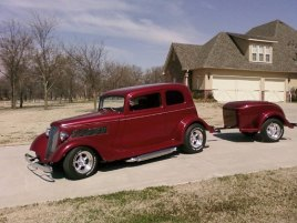 Mike McAfee Broken Arrow, OK 74014 1933 Ford Vicky 302 crate with Phoenix AOD Transmission