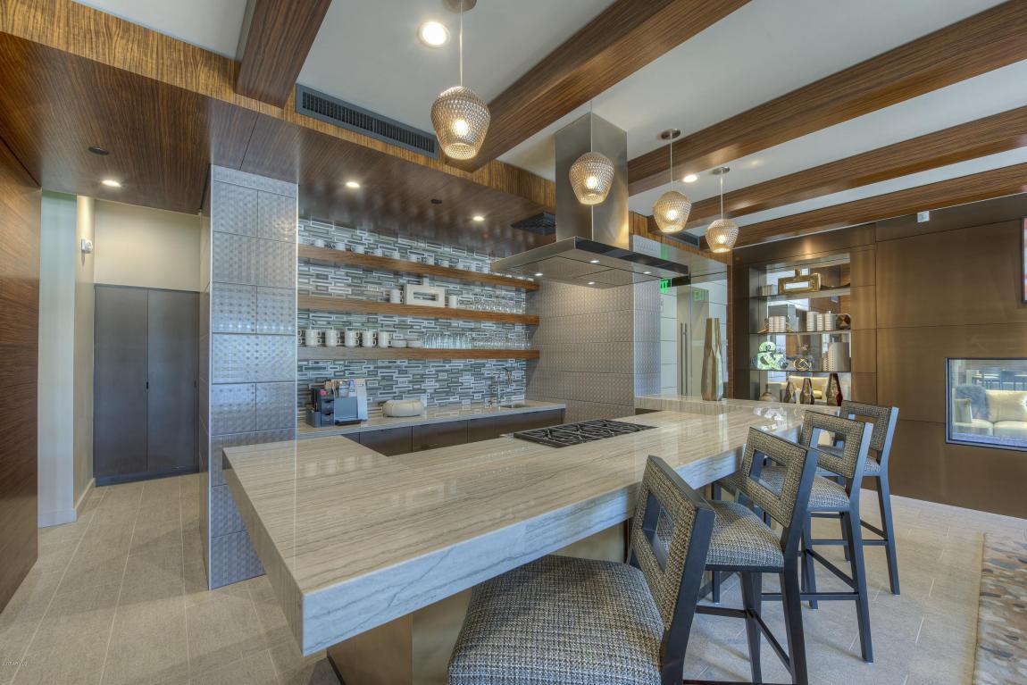 Enclave Club Room Kitchen