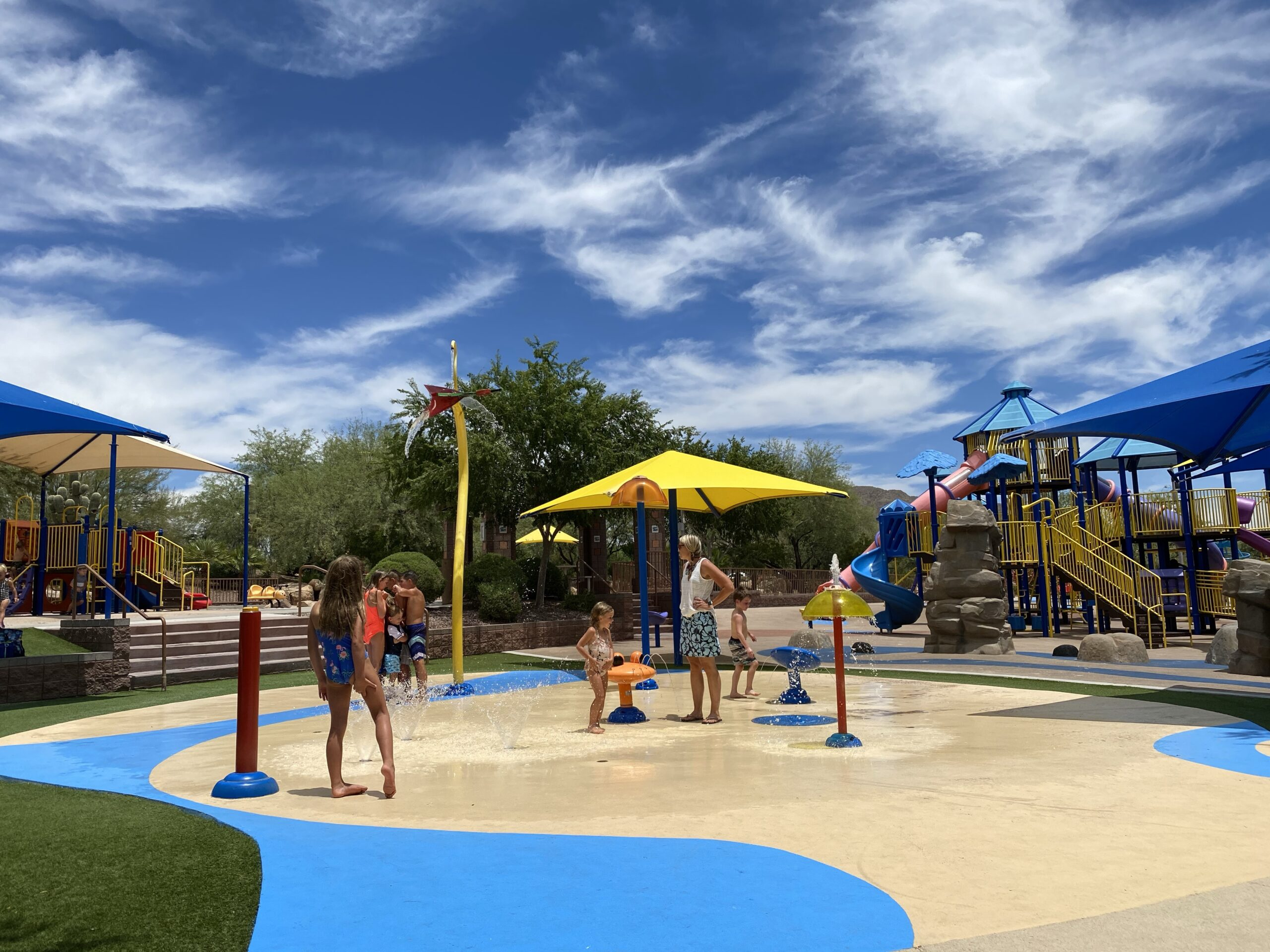 Best Splash Pads In Anthem And Carefree Phoenix With Kids