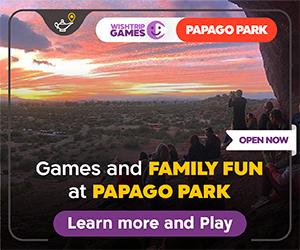 WishTrip at Papago Park in Phoenix, Arizona