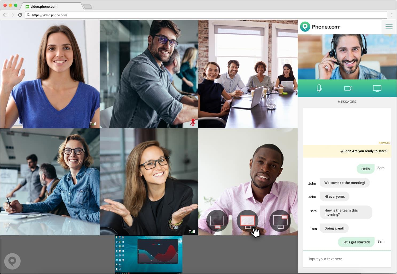 Video Conferencing Service | Phone.com