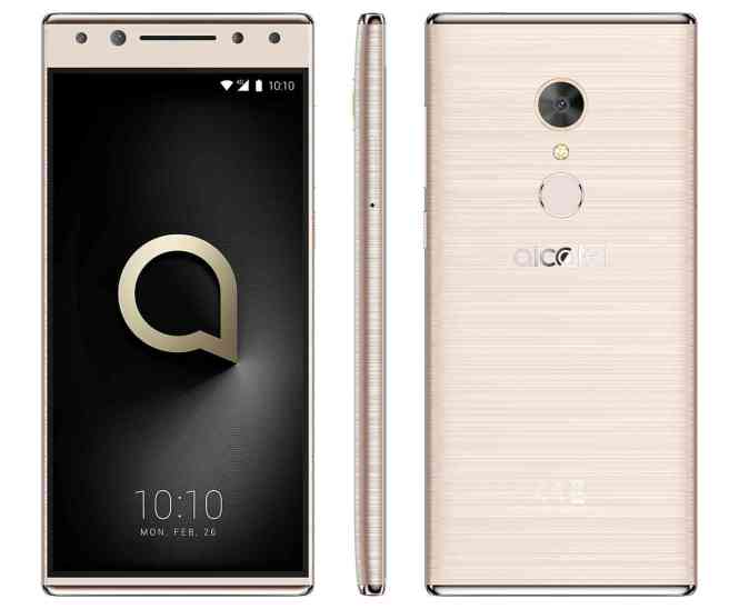 Alcatel 5 official MWC