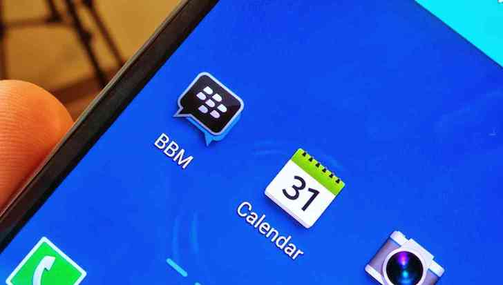 BBM for Android app