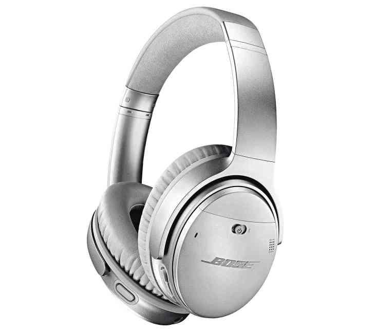Bose QC 35 II headphones Google Assistant silver