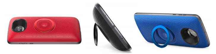 Moto Stereo Speaker Mod colors