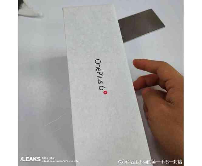 OnePlus 6T packaging leak 3