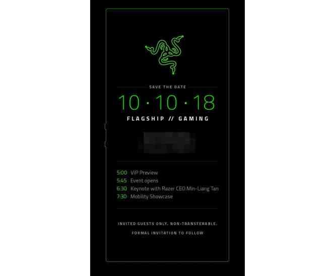 Razer Phone 2 event