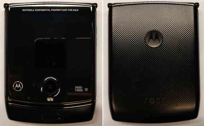 Motorola RAZR foldable closed FCC
