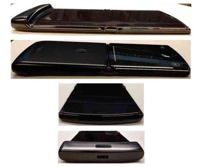Motorola RAZR foldable sides FCC
