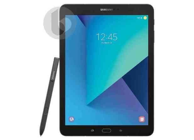 Samsung Galaxy Tab S3 leak front