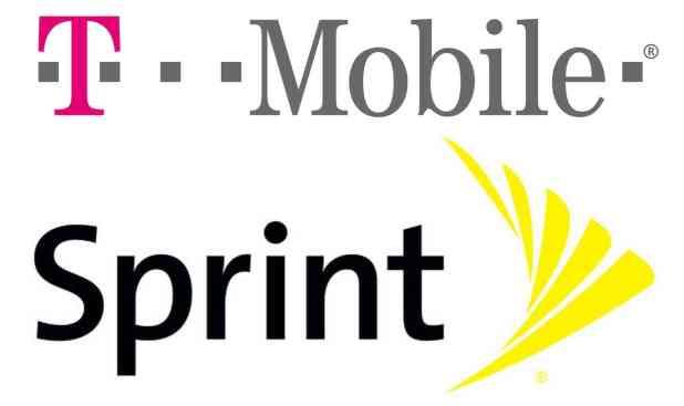 T-Mobile Sprint logos large