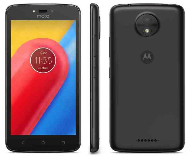 Motorola Moto C official