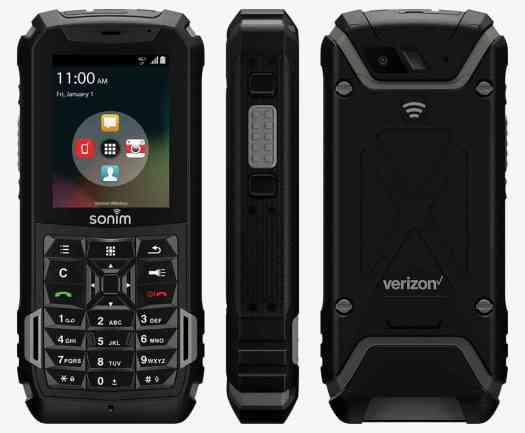 Verizon Sonim XP5 ultra-rugged basic phone