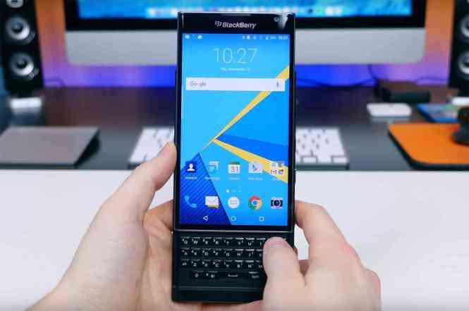 BlackBerry Priv hands-on video