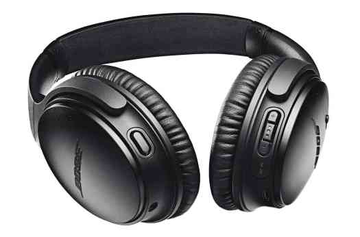Bose QC 35 II headphones Google Assistant black