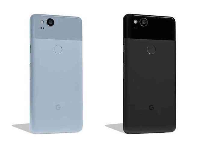 Google Pixel 2 colors leak Kinda Blue Just Black
