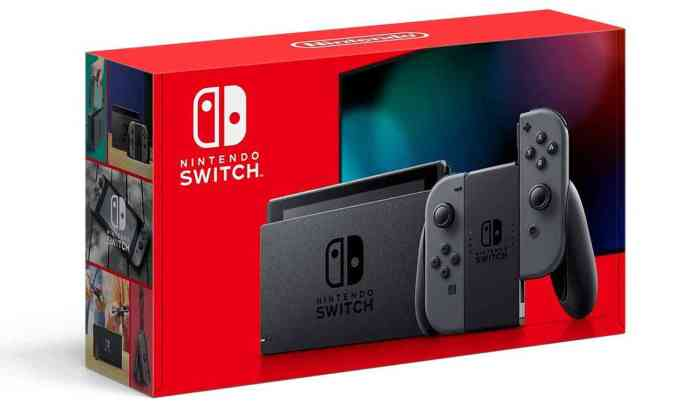 New Nintendo Switch improved battery life