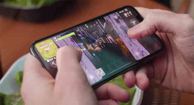 Fortnite mobile hands-on