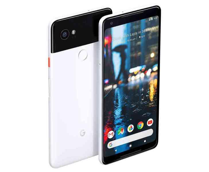 Google Pixel 2 XL black and white panda