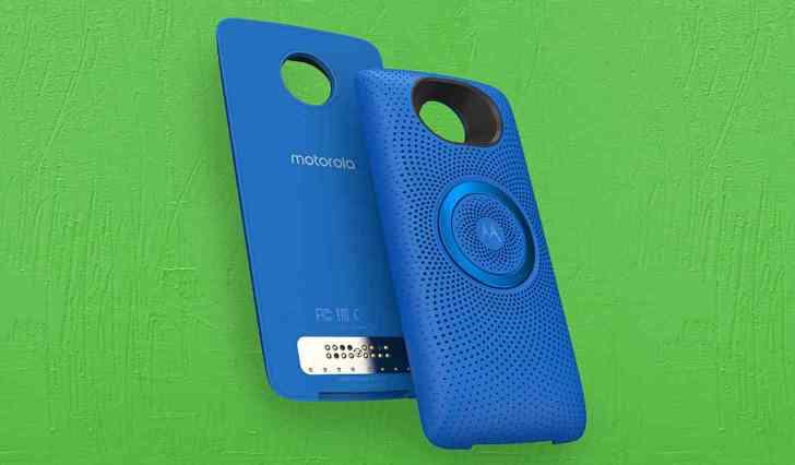 Moto Stereo Speaker Mod Motorola