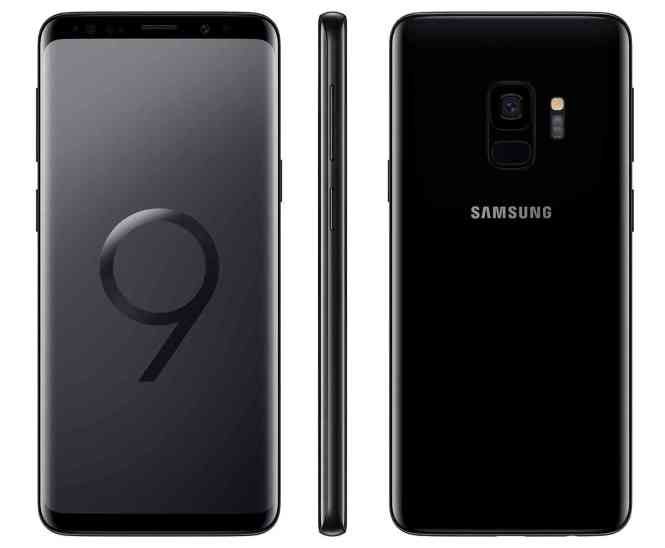 Samsung Galaxy S9 Midnight Black official