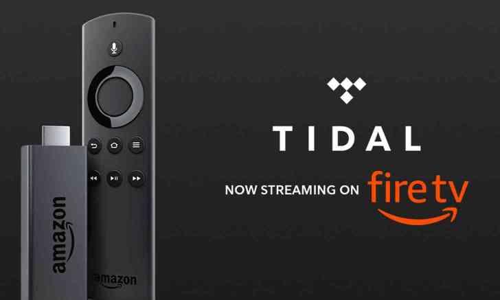 Tidal Amazon Fire TV