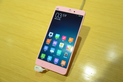 Xiaomi Pink Mi Note: « NSSJ »means a female-oriented new smartphone!
