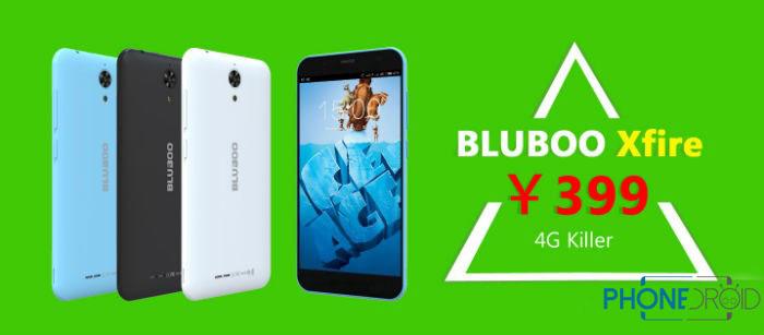 bluboo xfire probablement le smartphone 4g le moins cher phonedroid. Black Bedroom Furniture Sets. Home Design Ideas