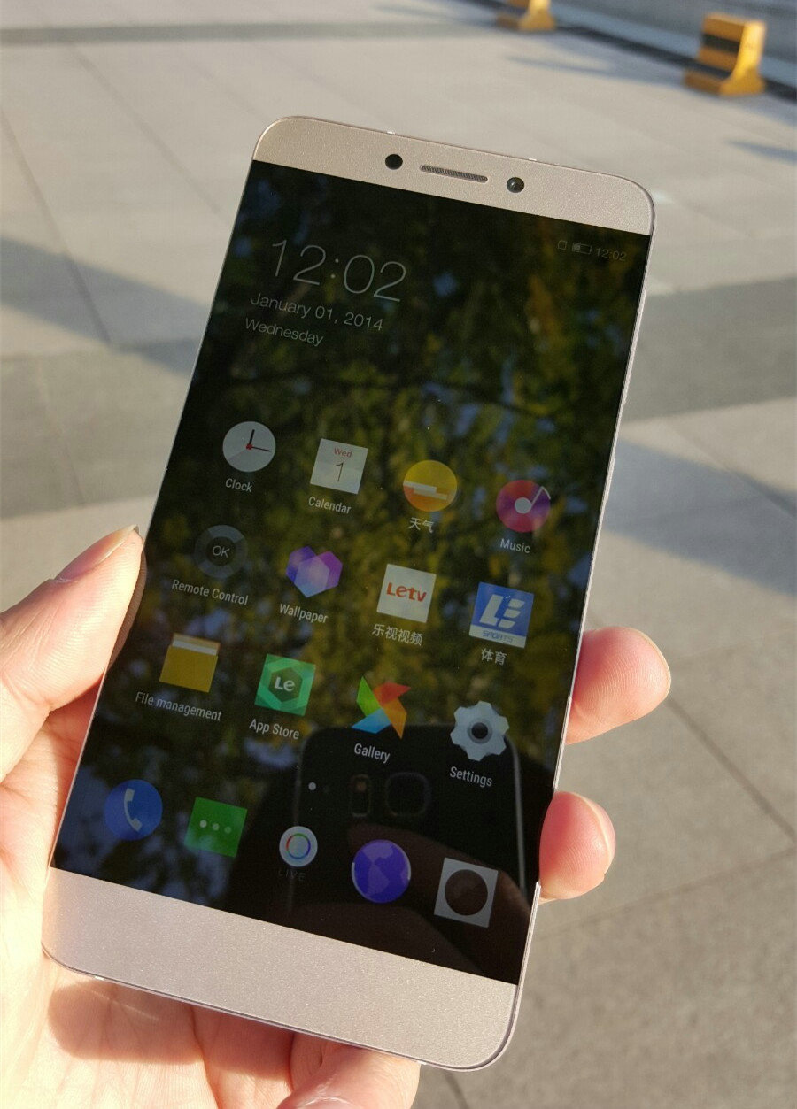 Letv 1S: A new budget killer with MT6795 Octa core • PhoneDroid
