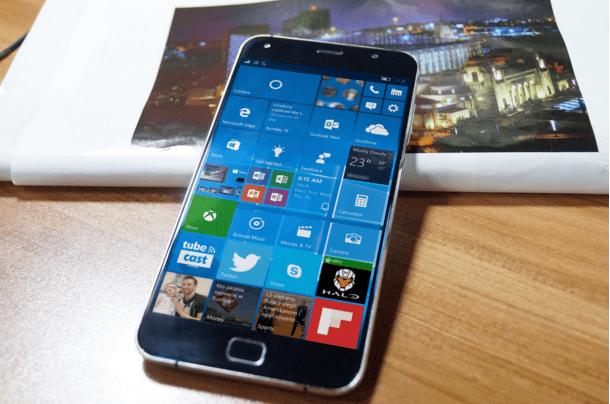 UMI Touch : Windows 10 en téléchargement.