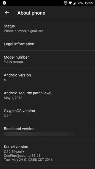 Oxygen OS et Androïd N !