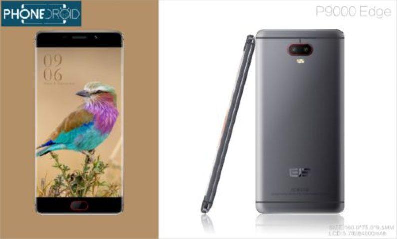 design tout en métal pour le Elephone P9000 Edge