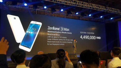 Zenfone 3 Max et Laser, grosse batterie et bel APN