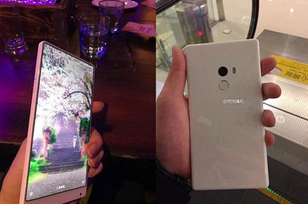 Xiaomi Mi Mix Blanc, première apparition. Chiqué ou réalité ?