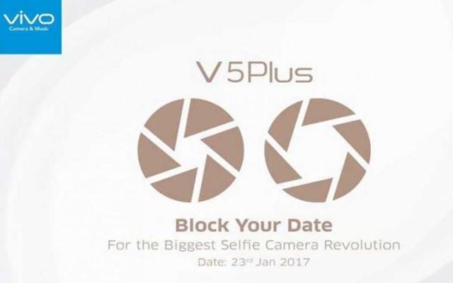 Vivo V5 Plus : la double caméra s'invite en façade pour le 23 janvier !