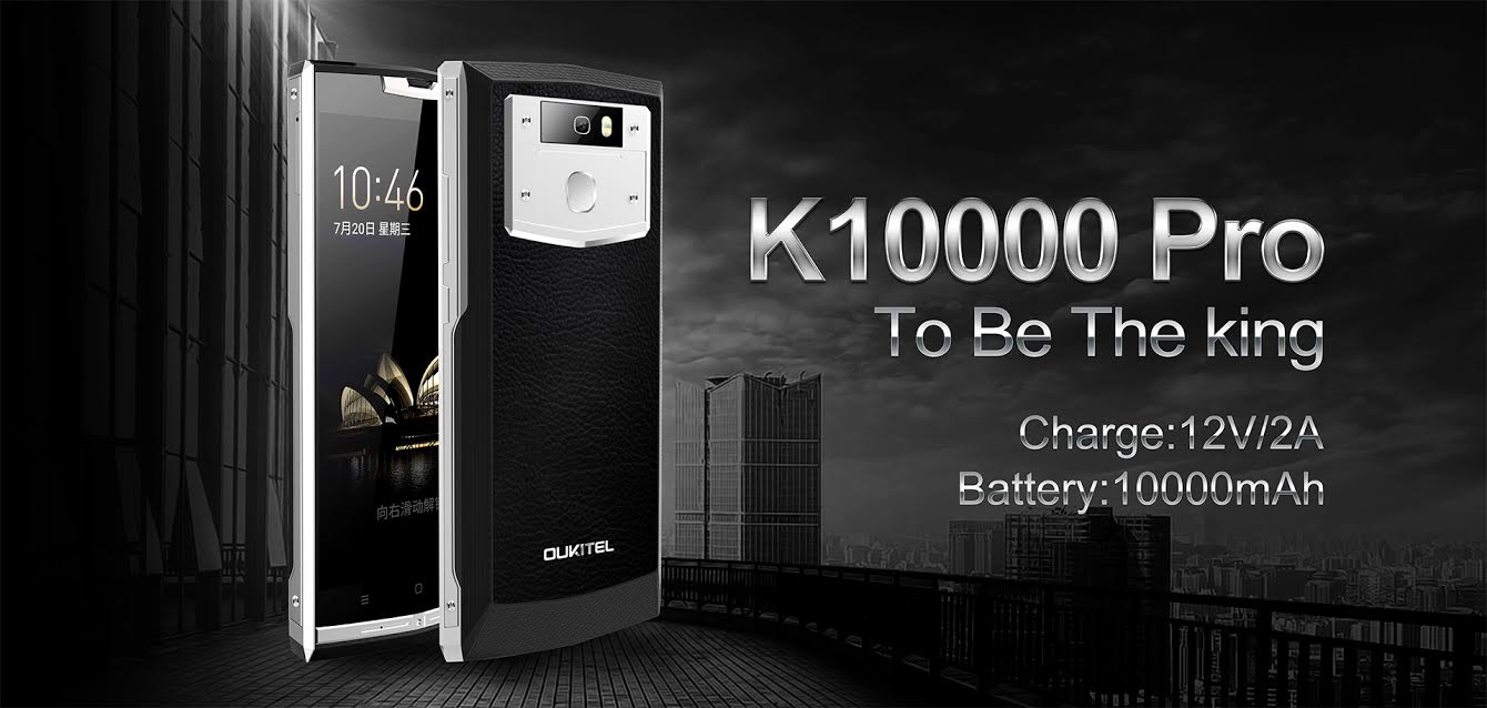 Oukitel K10000 Pro : Design et specs en vidéo !