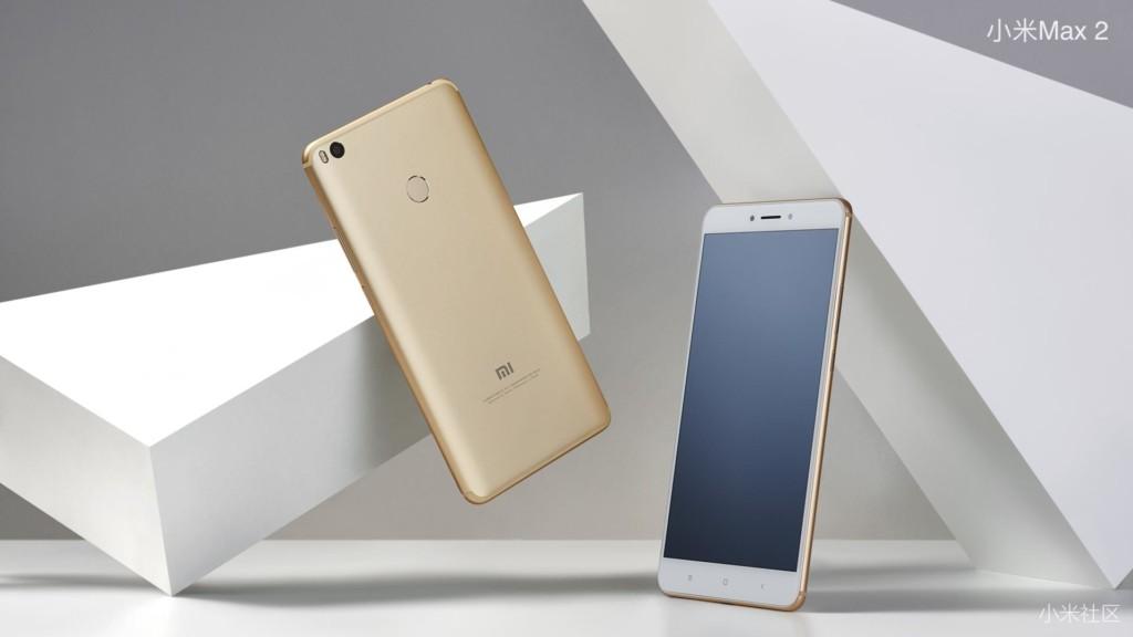 Le Xiaomi Mi Max 2 vient d'être officialisé…