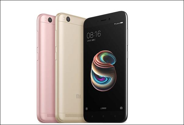 Le Xiaomi Redmi 5A est officiel avec son design en métal