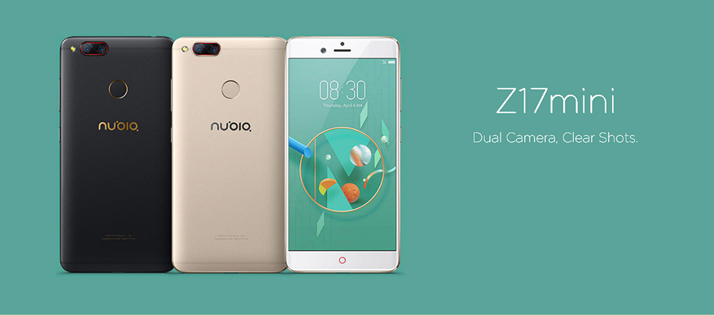 smartphones android chinois nubia z17 mini
