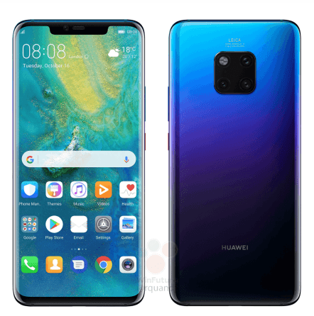 Huawei Mate 20 décliné en 4 versions !!