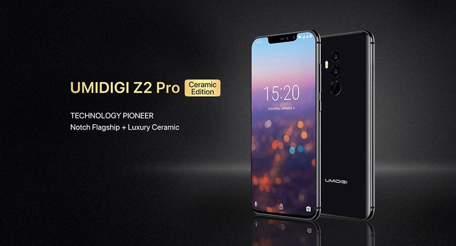 Umidigi Z2 pro: Sortie officielle