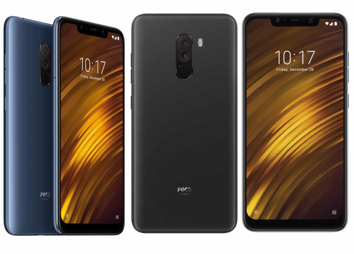 Pocophone F1 By Xiaomi contre Huawei P20