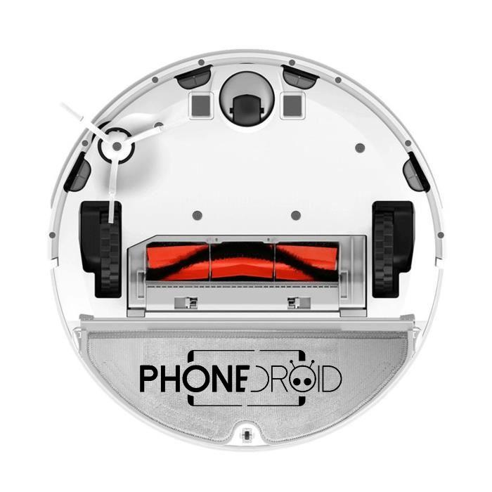 Aspirateur robot xiaomi roborock s50 v2 : roue aspirateur