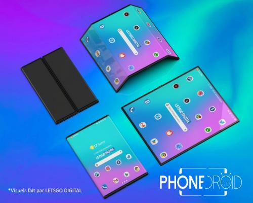 Xiaomi  : nouvelle vidéo de son smartphone pliable