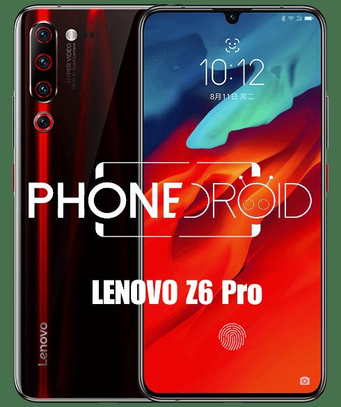 Lenovo Z6 Pro : le Flagship officiellement lancé!