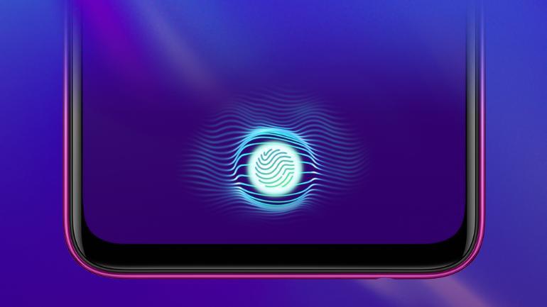 capteur d'empreinte digitale LCD