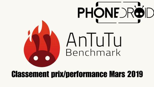 Antutu Benchmark : nouveau classement tarifs/performances