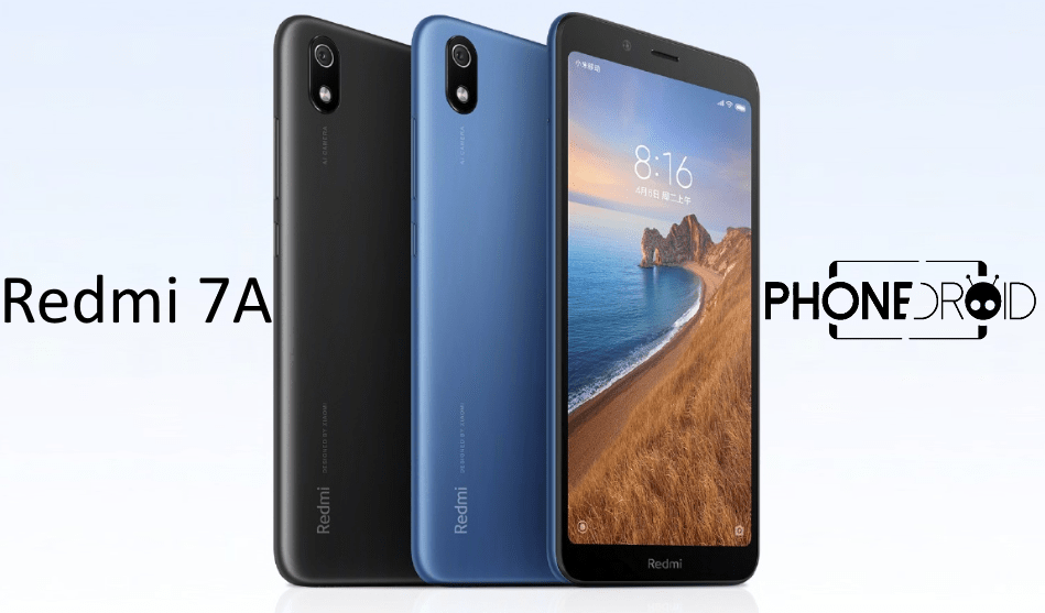 Redmi 7A Globale Version : disponible en exclusivité dans votre boutique Phonedroid!